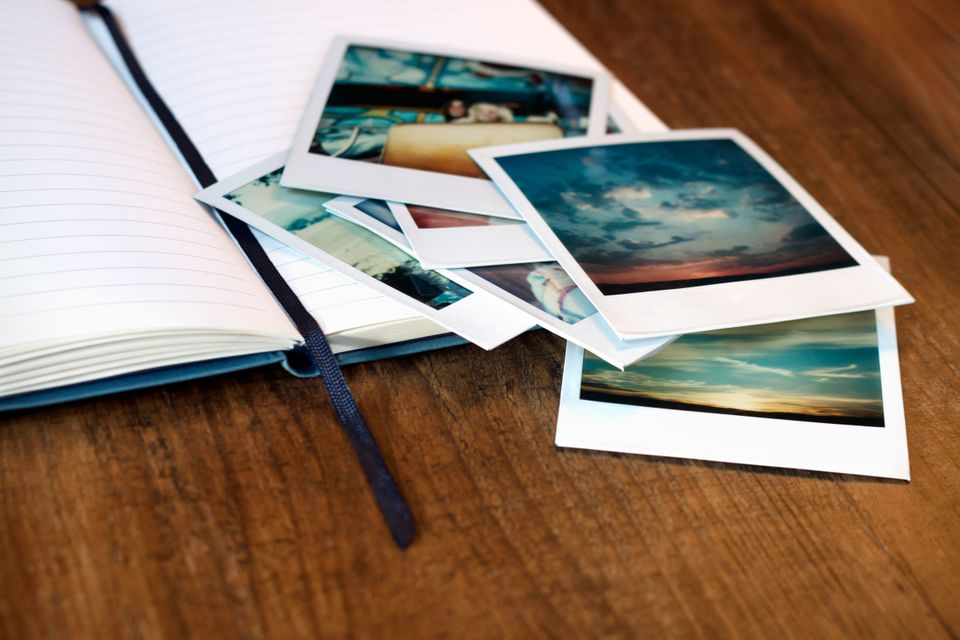 Recreate romantic memories with your partner by making a scrapbook filled with pictures from your first date until present.