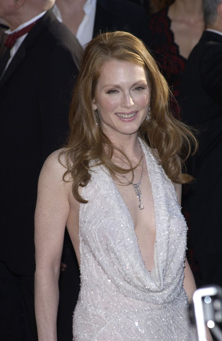 julianne moore at the 9th...