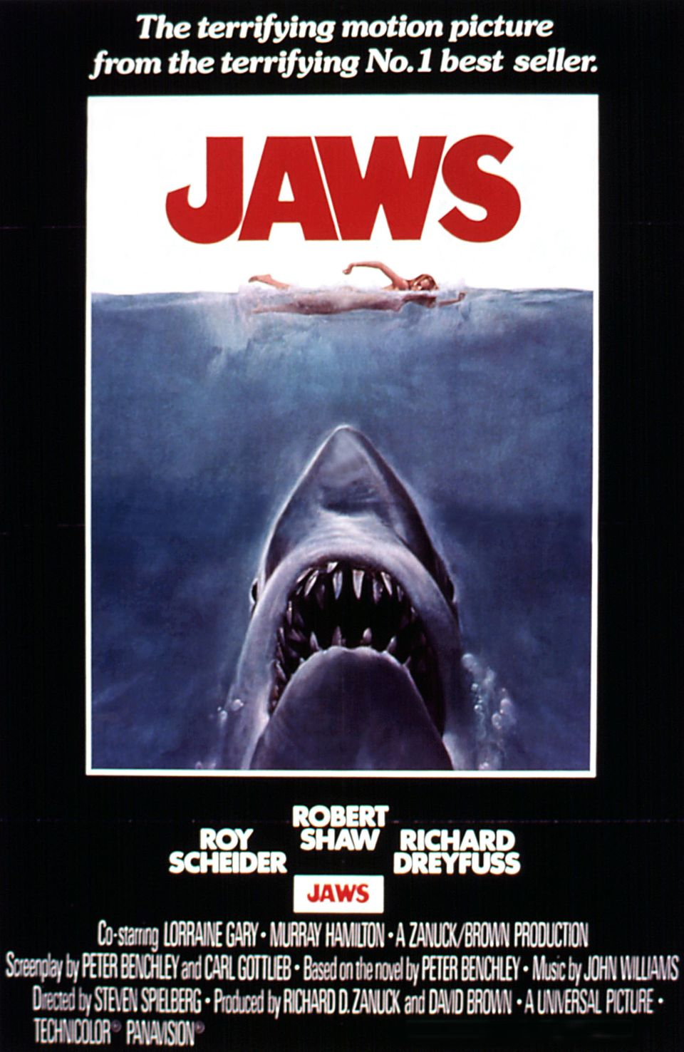 """Jaws"" premiered on June 20, 1975."