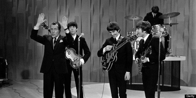 'The Ed Sullivan Show,' featuring The Beatles, performed on Sunday, February 9, 1964, from CBS's Studio 50 in New York City.