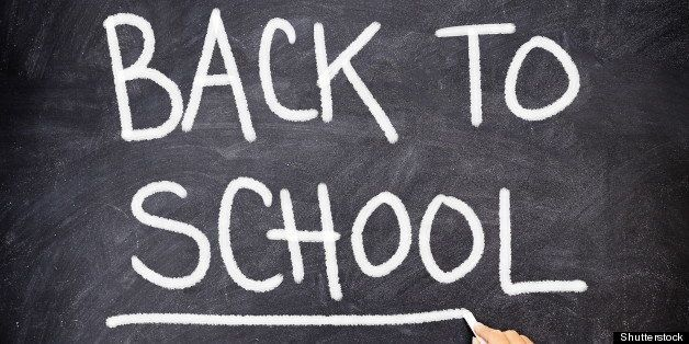 back to school blackboard  ...