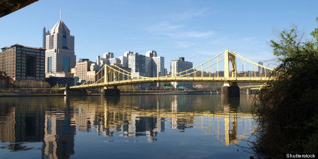 pittsburgh bridges and the ohio ...