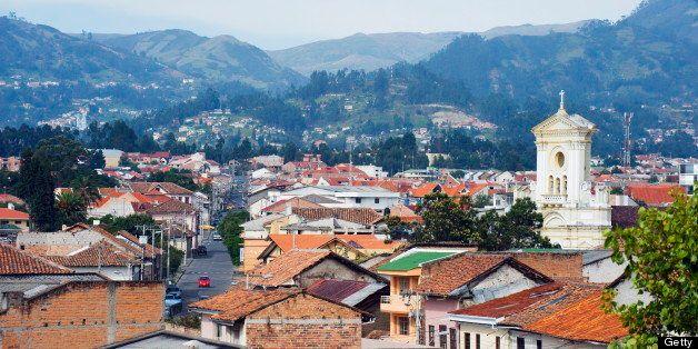 Historic Centre of Santa Ana de los Rios de Cuenca, UNESCO World Heritage Site, Cuenca, Ecuador, South America