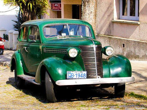 "Throughout Uruguay, you'll see antique cars--especially outside <a href=""http://internationalliving.com/2012/11/living-in-mon"