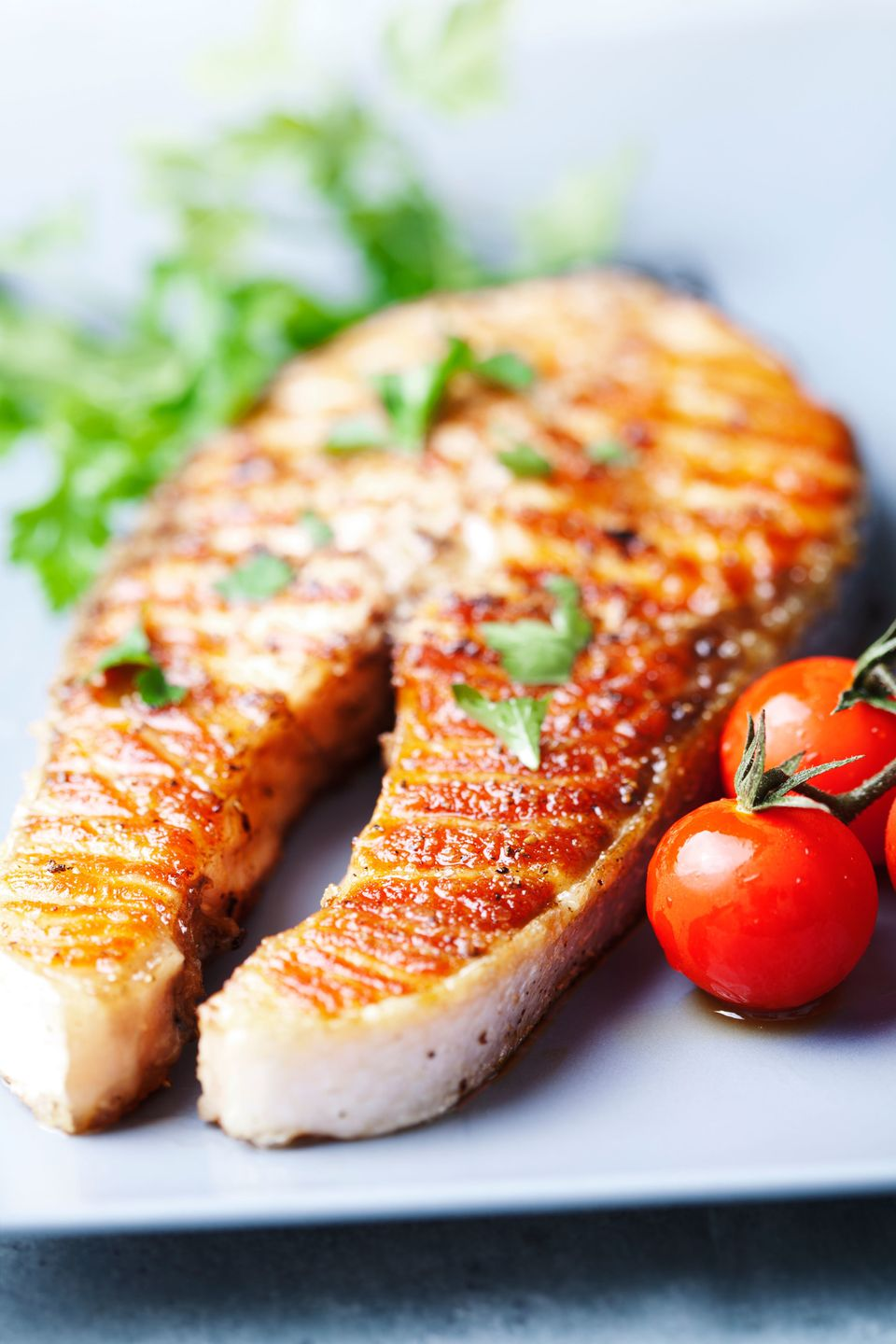 Fatty fish such as salmon, sardines, herring and mackerel boast the omega-3 fatty acids that are key for maintaining healthy