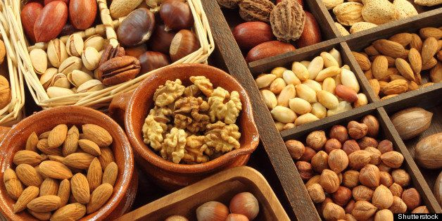 varieties of nuts  peanuts ...