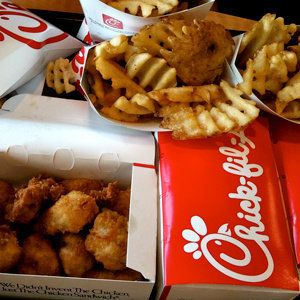 <strong>Religion:</strong> Southern Baptist  Are you one of the multitudes of people who are addicted to Chik-fil-A's golden-