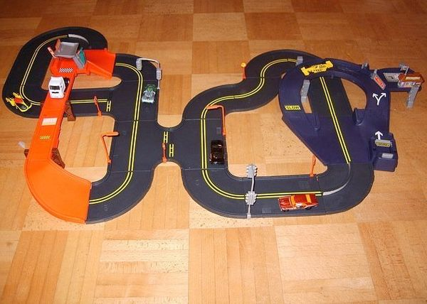 """""""A <a href=""""https://www.facebook.com/HuffPost50/posts/587785464626905"""" target=""""_blank"""">hot wheels race track</a> from my dad."""