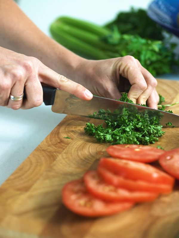 You cut veggies, meat, fish, and more on them, and as a result, germs can fester. 18% of cutting boards tested by the NSF had