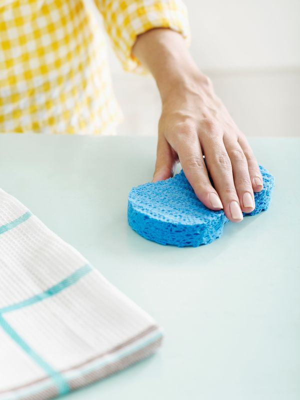 If you didn't know it already, the single germiest item in your home is your average kitchen sponge. The NSF found that more