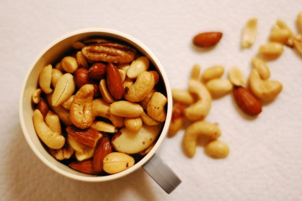Nuts can be considered a superfood when it comes to bone health and fighting osteoporosis. They contain calcium and protein w