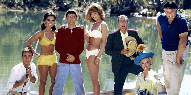 posted September 15, 2013 at 02:10PM: 20th-century-man: Gilligan?s Island cast: Russell Johnson, Dawn Wells, Bob Denver, Tina