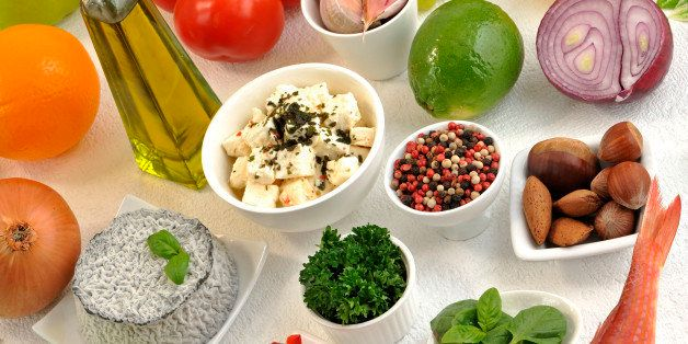 Mediterranean Food. (Photo by: Media for Medical/UIG via Getty Images)