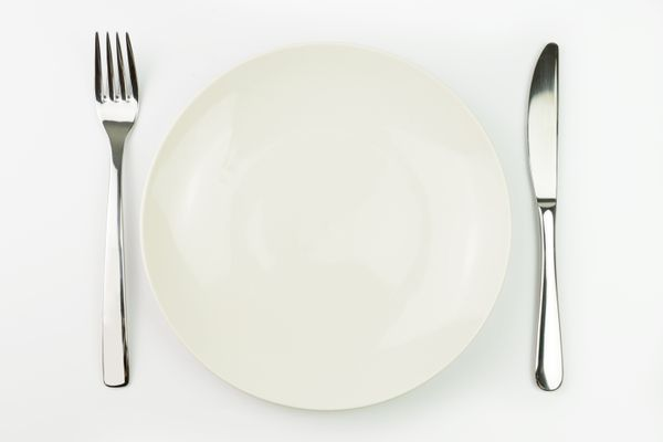 Change plates to lose weight! By switching from a 12-inch plate to a 10-inch plate, you'll cut calories by 22 percent. Accord