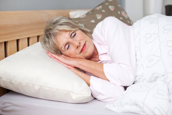 "How'd you sleep last night? Chances are your most honest answer is ""not so good."" And the sad truth is that as we age, both t"