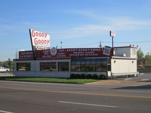 <strong>Location: </strong>St. Louis, MO    No one is sure how the Goody Goody Diner got its name. One story is that it was i