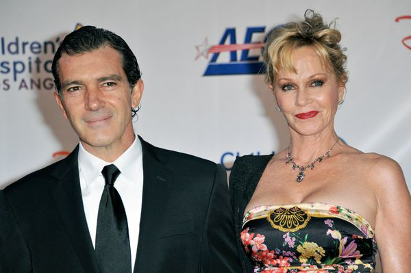"<strong>Age gap:</strong> 3 years  ""The first thing he asked me was my age,"" says Griffith of her husband, Spanish star Bande"