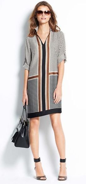 The sexy shift dress is a fun alternative for evening dressing, and is ideal for those who have a bit of a belly, but are ble