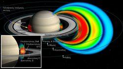 Νέα ζώνη ακτινοβολίας ανάμεσα στον Κρόνο και στους δακτυλίους του ανακάλυψαν Έλληνες