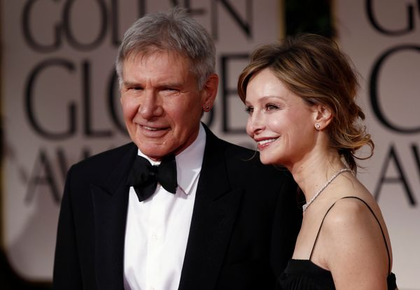 """It seems like the third time was the charm for <a href=""""http://www.biography.com/people/harrison-ford-9298701#personal-life&a"""