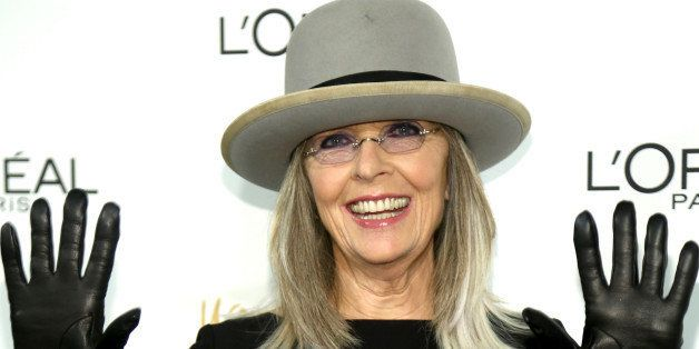 NEW YORK, NY - DECEMBER 03:  Actress Diane Keaton attends L'Oreal Paris' Women of Worth 2013 at The Pierre Hotel on December