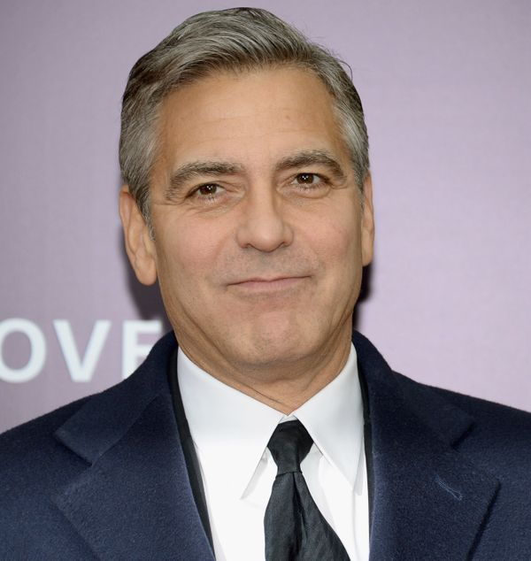 Though he started the show as a dashing brunette, Clooney was clearly graying by the 1999 end of his stint as Dr. Doug Ross o