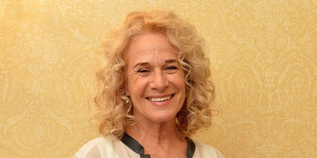 NEW YORK, NY - JUNE 08:  Carole King poses in the press room at the 68th Annual Tony Awards on June 8, 2014 in New York City.