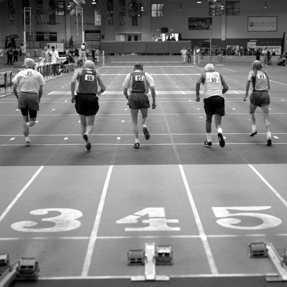 <strong>Sprinters, 85 and over </strong>
