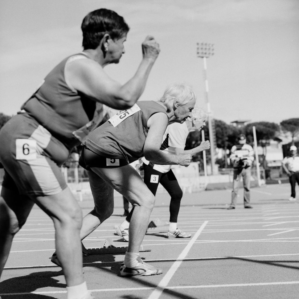 <strong>Women sprinters, 80-85</strong>