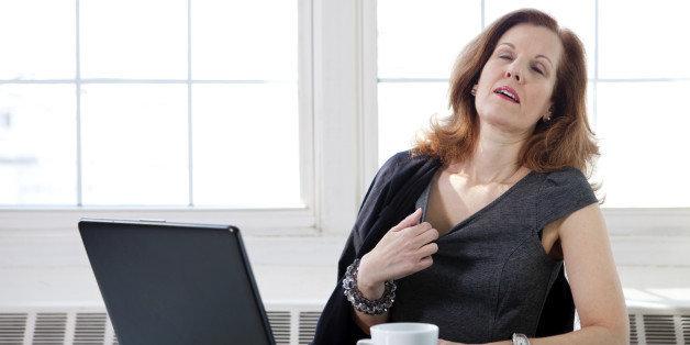 Does caffeine make hot flashes worse