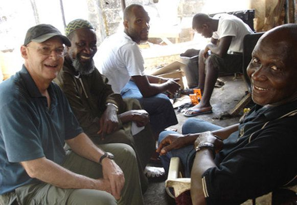 Returning to Liberia in 2009, decades after his first look at the country as a college-aged Peace Corps volunteer, Richard Fa