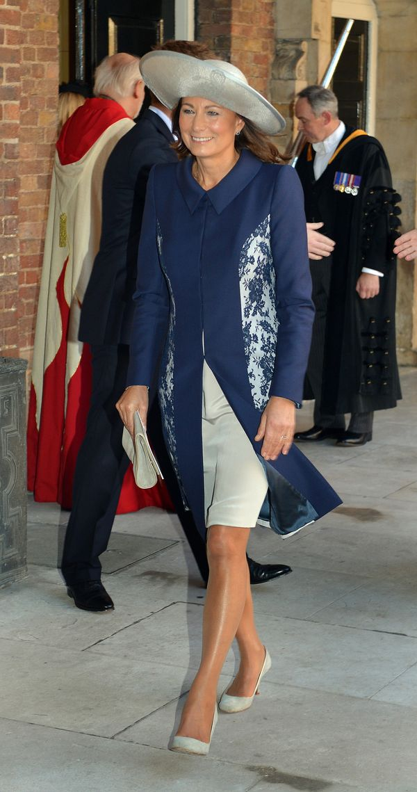One look at glam-ma Carole, and we know where Kate and Pippa got their endless legs and sense of style. We'd never have guess
