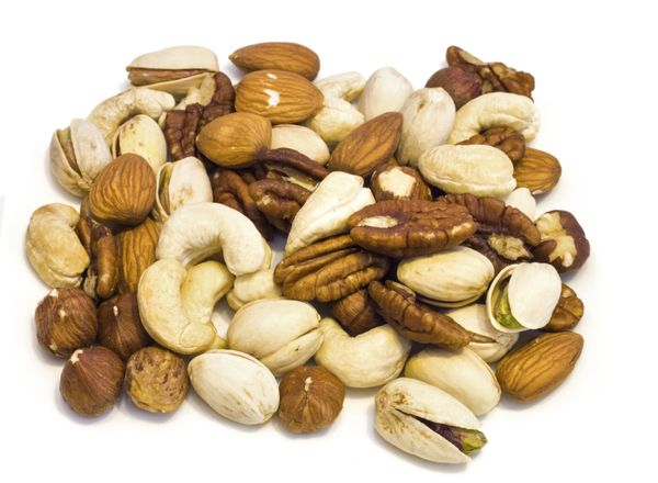 Nuts are the ideal snack to promote healthy hair growth. They contain fatty acids as well as zinc. (Zinc deficiency has been