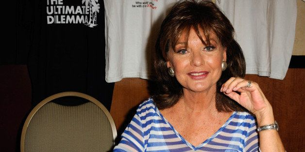 BURBANK, CA - OCTOBER 06:  Actress Dawn Wells of 'Gilligan's Island'  participates in The Hollywood Show held at Burbank Airp