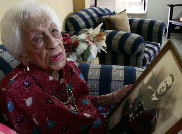 "When Ecuadorean Maria Capovilla died in 2006 at the age of 116, she was <a href=""http://articles.latimes.com/2006/aug/29/loca"