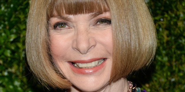 Anna Wintour attends the 2014 God's Love We Deliver Golden Heart Awards at Spring Studios on Thursday, Oct. 16, 2014, in New