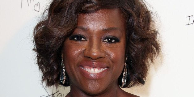 LOS ANGELES, CA - OCTOBER 10: Actress Viola Davis attends the 2014 Variety Power of Women presented by Lifetime at Beverly Wi
