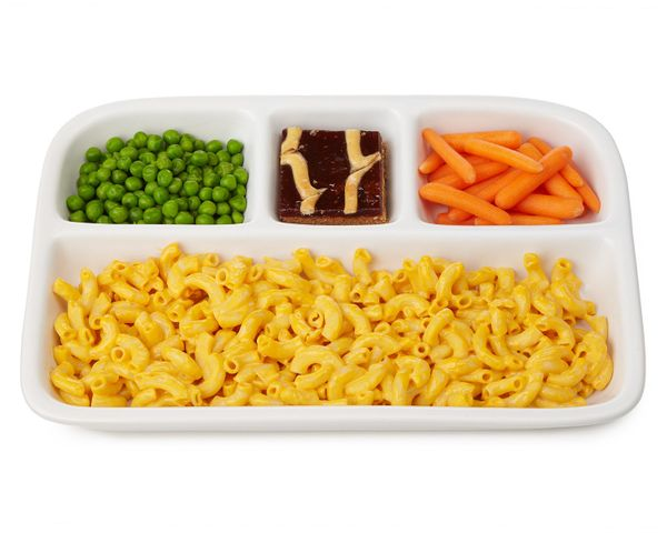 "Get the <a href=""http://www.uncommongoods.com/product/stoneware-tv-dinner-trays"" target=""_blank"">Stoneware TV Dinner Trays</a"