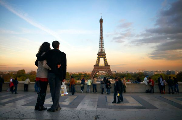 """My husband and I will be visiting Paris and London for the first time,"" said Linda Thompson Gebelein."