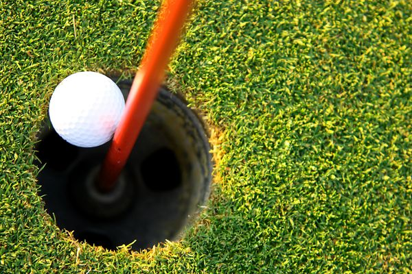 """To get a hole in one,"" said Jean Dedeke."
