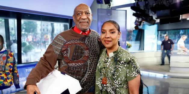 TODAY -- Pictured: (l-r) Bill Cosby and Phylicia Rashad appear on NBC News' 'Today' show -- (Photo by: Peter Kramer/NBC/NBC N