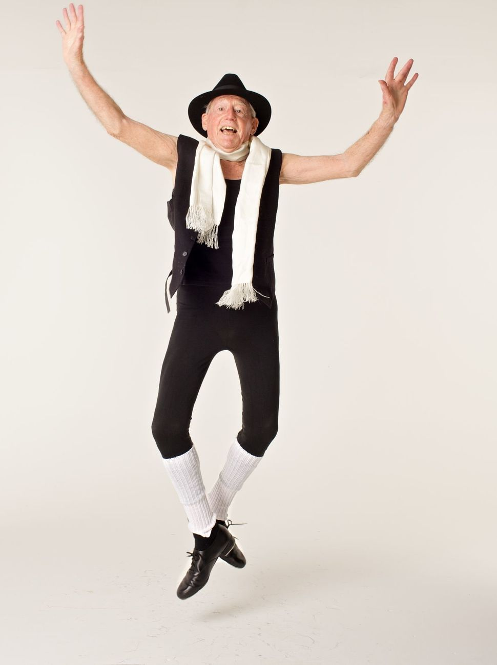 John Lowe took up ballet when he turned 80. Now 94, he dances professionally and enjoys performing on stage.