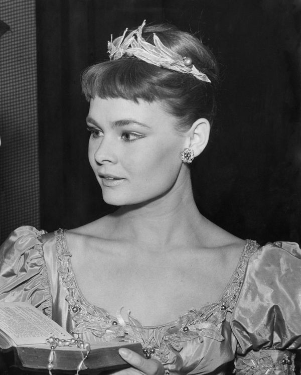 """Judi was stunning when she played Ophelia in Shakespeare's """"Hamlet"""" in 1957."""