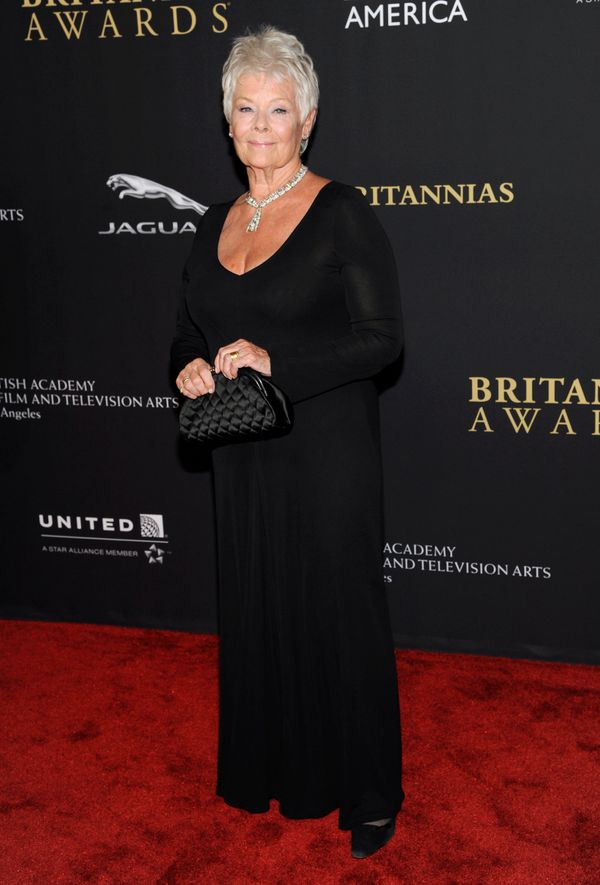 Another hit in a stunning black gown. And how about that diamond necklace??