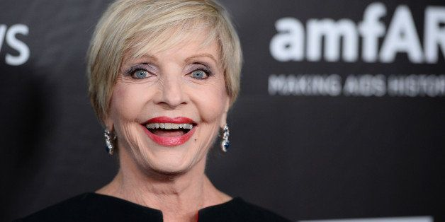 Florence Henderson arrives at the 2014 amfAR Inspiration Gala at Milk Studios on Wednesday, Oct. 29, in Los Angeles. (Photo b