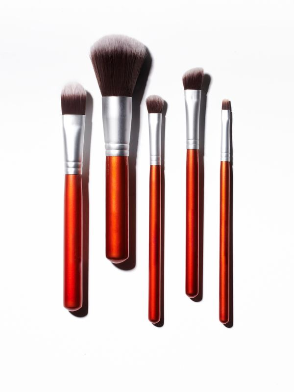 Makeup brushes can be a pain to clean, but peroxide makes the process easier. Mix one part water with one part 3-percent hydr