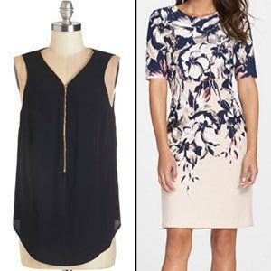 Choose: Minimizing bras/ V-Neck tops/ Dark prints<br> You can have too much of a good thing! But there are solutions at the r