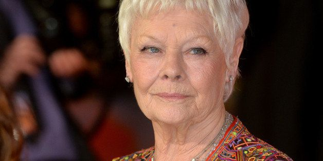 LONDON, ENGLAND - FEBRUARY 17:  Dame Judi Dench attends The Royal Film Performance and World Premiere of 'The Second Best Exo