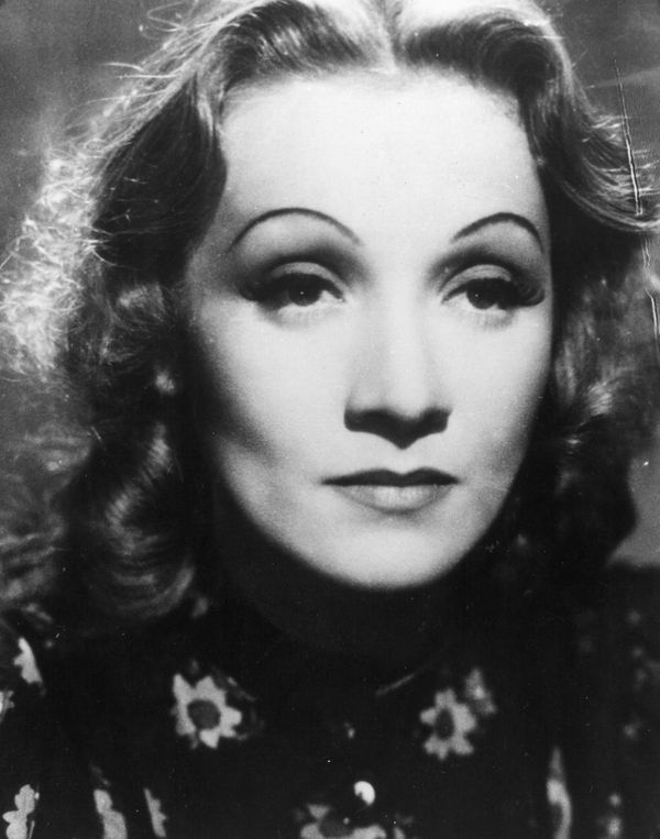 Marlene Dietrich's perfectly arched, thin eyebrows weren't a gift from nature. In the early 1930s, it was reportedly stylish