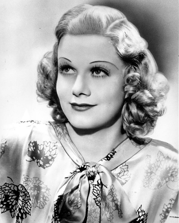 "The platinum blonde actress Jean Harlow felt contouring was important in giving her face all the right angles. <a href=""http:"